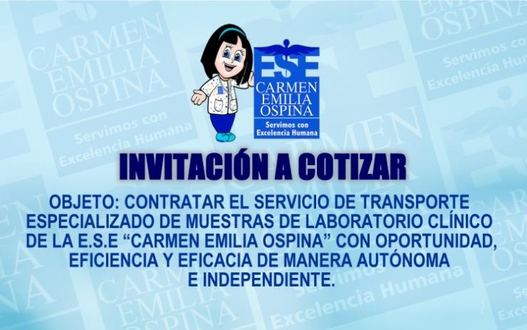 Invitación a cotizar