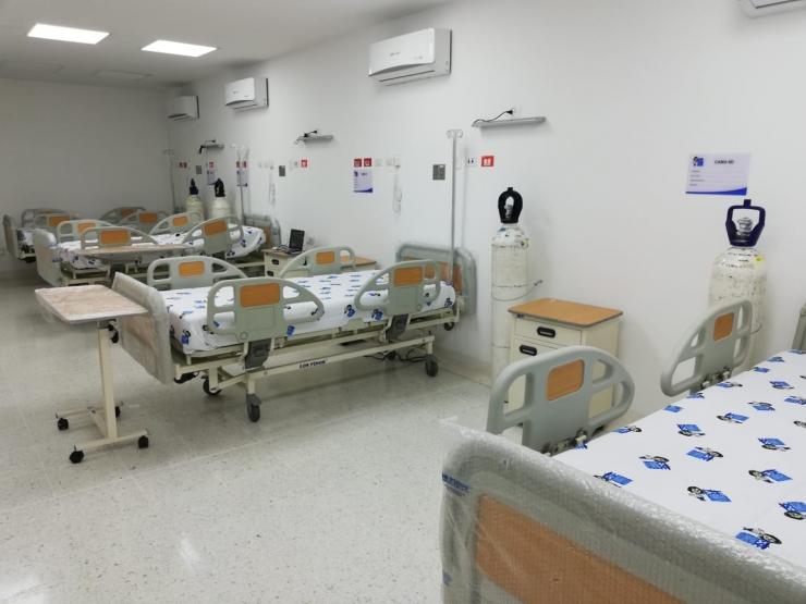 E.S.E. Carmen Emilia Ospina cuenta con suficientes camas para atender pacientes con COVID-19