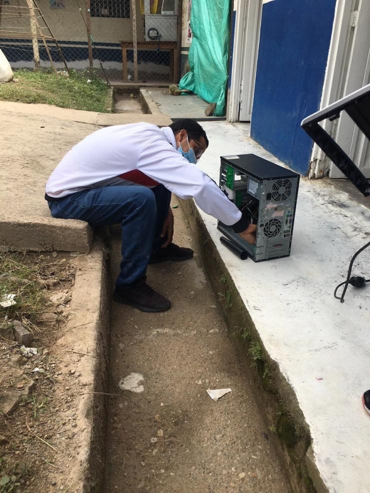 ESE de neiva llevó conectividad a tres centros de salud en zona rural